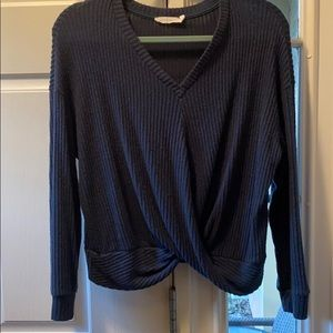 Sweater top long sleeve